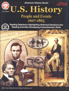 U.S. History: People and Events 1607-1865