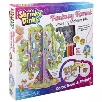 Shrinky Dinks Fantasy Forest Jewelry Making Kit