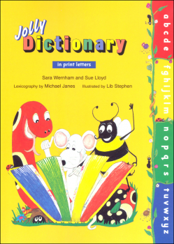 Jolly Dictionary w/ Print Letters