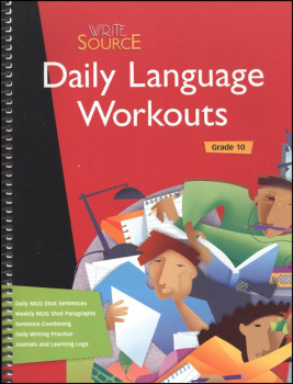 Write Source Daily Language Workouts Grade 10 (2007)