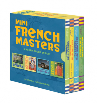 Mini French Masters Board Book Boxed Set