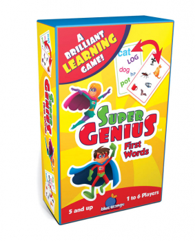 Super Genius First Words Game