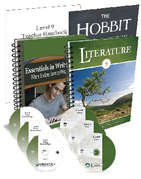 Essentials in Writing and Literature Level 9 Bundle with DVDs