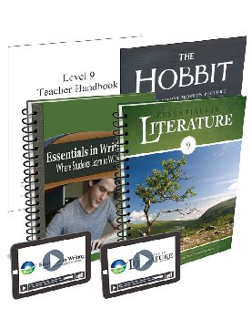 Essentials in Writing and Literature Level 9 Bundle with Online Video Subscription