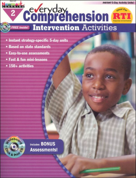 Everyday Comprehension Intervention Activities Grade 2