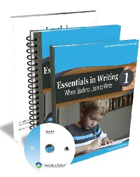 Essentials in Writing Level 1 Combo with Assessment (DVD, Textbook, Assessment and Teacher Handbook) 2nd Edition