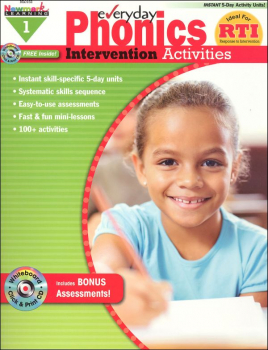 Everyday Phonics Intervention Activities Grade 1