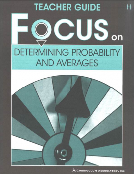 Determining Probability and Averages Teacher Guide H