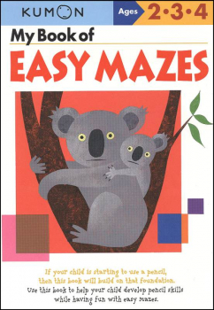 My Book of Easy Mazes (Ages 2-4)