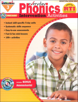 Everyday Phonics Intervention Activities Grade 3