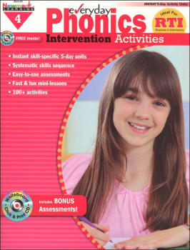Everyday Phonics Intervention Activities Grade 4