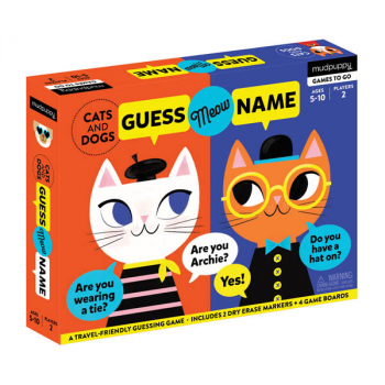 Guess Meow Name Cats and Dogs Game