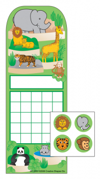Zoo Personal Incentive Charts and Stickers