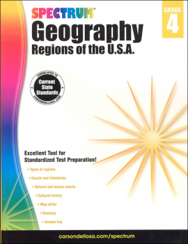 Spectrum Geography 2014 Grade 4 - Regions of the USA