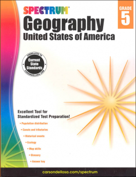 Spectrum Geography 2014 Grade 5 - United States of America