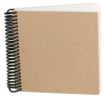 "Eco Sketch Journal (6"" x 6"") 100 sheets"