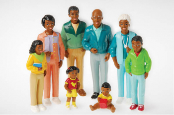 Pretend Play Family - Black