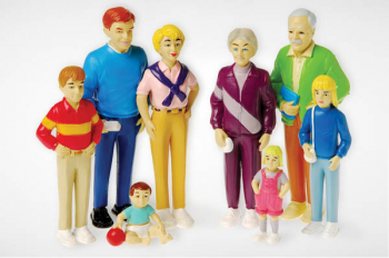 Pretend Play Family - White
