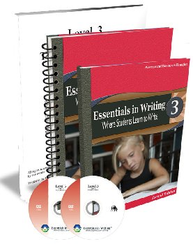 Essentials in Writing Level 3 Combo with Assessment (DVD, Textbook, Teacher Handbook and Assessment) 2nd Edition