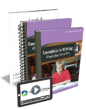 Essentials in Writing Level 4 Bundle with Assessment (Online Video Subscription, Textbook, Teacher Handbook and Assessme