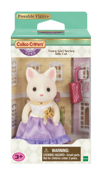 Lulu Silk Cat (Calico Critters Town Girl Series)