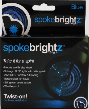 Spoke Brightz Bike Light - Blue