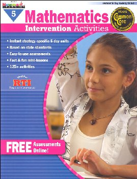 Mathematics Intervention Activities Grade 5