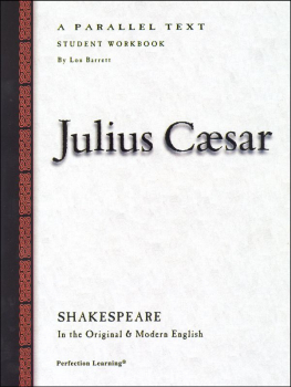 Julius Caesar-Shakespeare Workbook