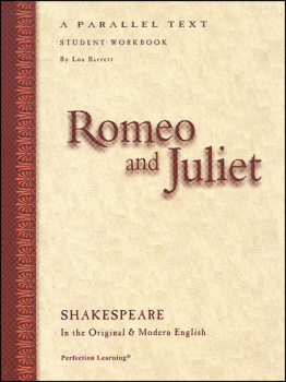 Romeo & Juliet Shakespeare Workbook