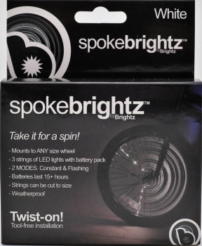 Spoke Brightz Bike Light - White