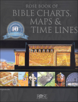 Rose Book of Bible Charts, Maps, & Time Lines