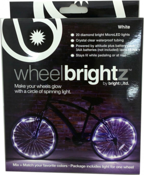 Wheel Brightz Bike Tire Lights - White