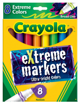 Crayola eXtreme Markers 8 count