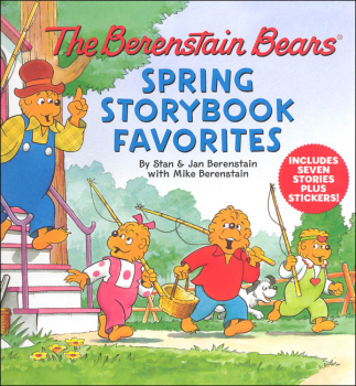 Berenstain Bears Spring Storybook Favorites: 7 Stories Plus Stickers!