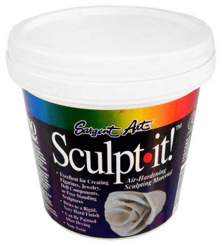 Sculpt-it! Air Hardening Sculpting Material 2 lb. (White)
