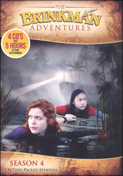 Brinkman Adventures Season 4 CDs