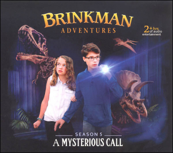 Brinkman Adventures Season 5 CDs - Mysterious Call