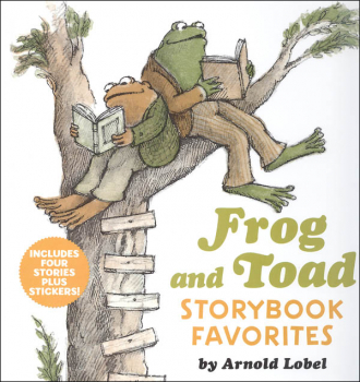 Frog and Toad Storybook Favorites: 4 Stories Plus Stickers! (I Can Read! Level 2)