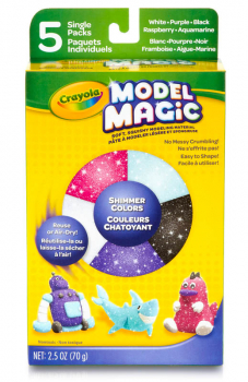 Crayola Model Magic Shimmer 5 Count