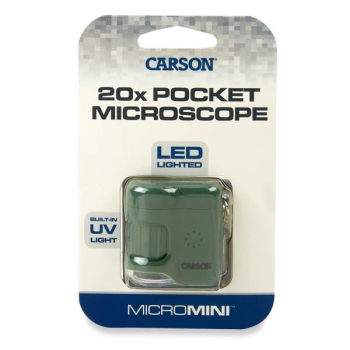 MicroMini 20x LED Pocket Microscope - Green