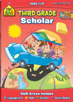 Third Grade Deluxe Scholar Workbook