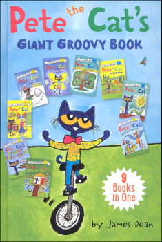 Pete the Cat's Giant Groovy Book: 9 Books in One (I Can Read! My First)