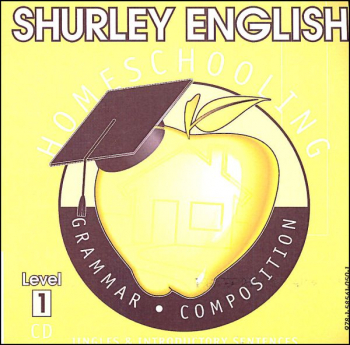 Shurley English Level 1 Homeschool Audio CD