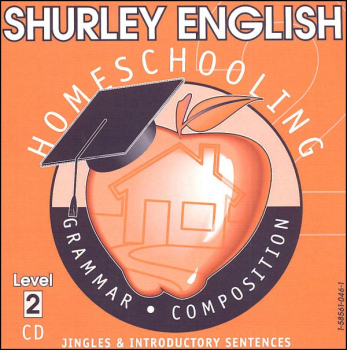 Shurley English Level 2 Homeschool Audio CD