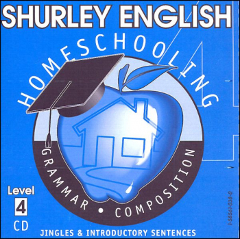 Shurley English Level 4 Homeschool Audio CD