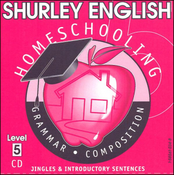 Shurley English Level 5 Homeschool Audio CD