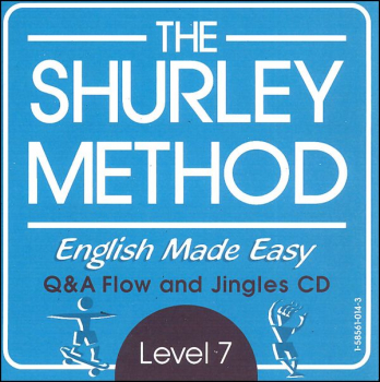 Shurley English Level 7 Homeschool Audio CD