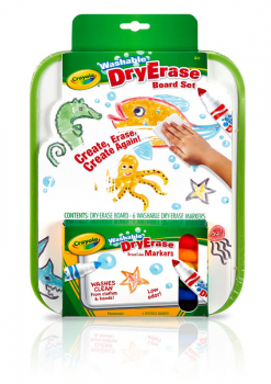 Crayola Washable Dry-Erase Marker Board Set