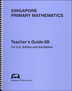 Primary Math US 6B Teacher Guide