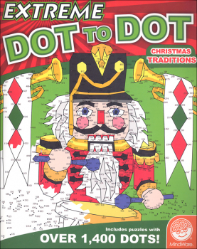 Extreme Dot to Dots Book - Christmas Traditions